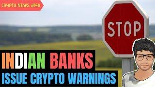 Indian Banks undertakings against Crypto, Ethereum Hardfork Scams - Crypto News #140