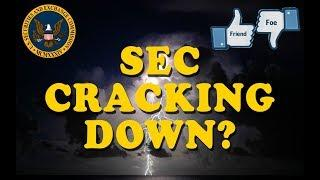 IS THE SEC CRACKING DOWN? A FRIEND? A FOE?