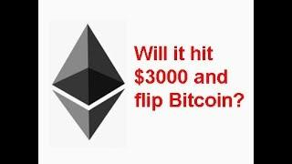 Ethereum(ETH) to $3000 next bull run, will it flip Bitcoin? Reasons why..