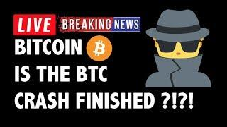 Is The Bitcoin (BTC) Crash Finished?! - Crypto Market Technical Analysis & Cryptocurrency News