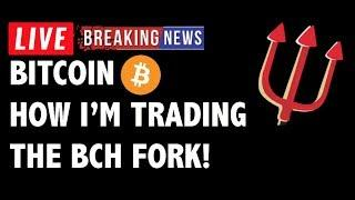 How I'm Trading the Bitcoin Cash (BCH/BTC) Fork! - Crypto Market Analysis & Cryptocurrency News