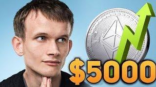 Ethereum Станет Вторым Биткоином! Банкиры Накачают Эфир до 5000$ Почему 2019 Прогноз