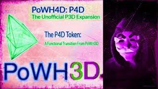 POWH3D News: P3X Vs POWH4D Cryptocurrency Market Update #Ethereum #eth #dapps