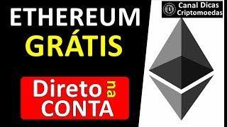 ETHEREUM GRÁTIS - FAUCET PAGANDO Direto na Conta FAUCETHUB