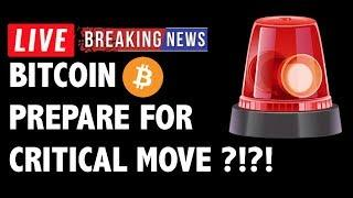 Prepare for CRITICAL Move in Bitcoin (BTC)?!- Crypto Market Technical Analysis & Cryptocurrency News