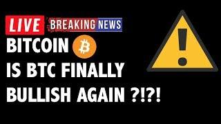 ⚠️ Is Bitcoin (BTC) Finally BULLISH AGAIN?! - Crypto Market Trading Analysis & Cryptocurrency News