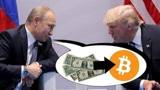 Will Russia ditch the US Dollar for Bitcoin?