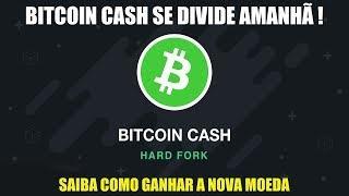 Bitcoin Cash (BCH) se dividirá amanhã! Como ganhar moedas com o FORK?