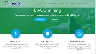 DAGO майнинг - использование возобновляемых источников энергии для майнинга и блокчейна.