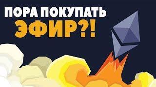 Ethereum - ПАДЕНИЕ ДО 80$? КОГДА КУПИТЬ ЭФИР? (Прогноз курса и анализ Эфириум ETH)