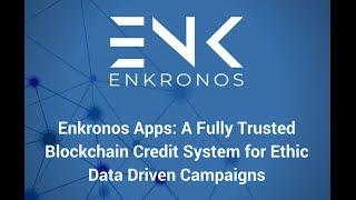 [ENKRONOS ICO]  Blockchain APPS Made Easy!