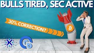 Bitcoin Bulls on a Break, 30% DROP? KIK ICO vs SEC, Opacity Launch - Crypto News