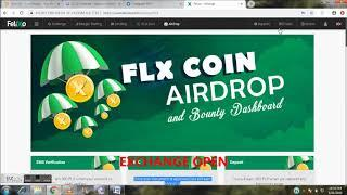 FLX COIN FREE 28$ WITHDRAWAL OPEN