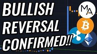 ATTENTION: Bullish Reversal Confirmed For Bitcoin & Crypto Markets!? BTC, ETH, XRP & Crypto News!