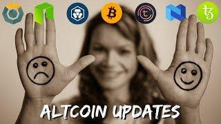 Top Altcoin Updates – NEO, Crypto Com, Tezos, Tomochain, Komodo, BNB, and More!