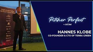 Terra Green  ICO At Pitcher Perfect By UCIM | Hannes Klobe | Singapore Blockchain Event 2019