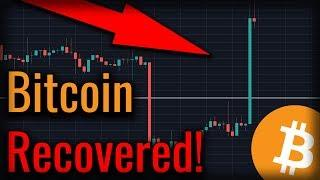 BREAKING NEWS: Bitcoin Recovered Above Critical Support!