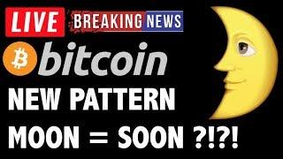 Bitcoin NEW PATTERN = POTENTIAL MOON?! - LIVE Crypto Trading Analysis & BTC Cryptocurrency News 2019