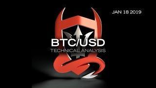 Bitcoin Technical Analysis (BTC/USD) : Path of Least Resistance...  [01.18.2019]