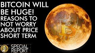 Reasons Why Bitcoin Will Be Huge! Don't Worry About Today's Price