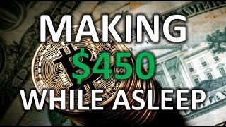 HOW I MADE OVER $450 IN 4 HOURS TRADING CRYPTO! - Trading Ethereum On Deribit