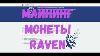 Майнинг монеты RavenCoin картами AMD на алгоритме x16Rv2, практическое руководство