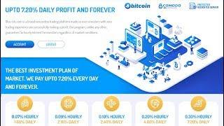 Highest Bitcoin Investment. Earn Automatic. Get 0.30% Hourly