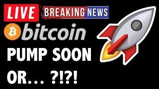 Bitcoin PUMP SOON OR...?! - LIVE Crypto Market Trading Analysis & BTC Cryptocurrency Price News 2019