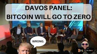 Davos: BTC To Zero   NASDAQ CEO: Bitcoin world currency   McAfee In Exile