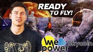 Bitcoin начало to the moon l Криптовалюта Skycoin, WePower иксы иксов на Binance l Биржевые IEO 2019