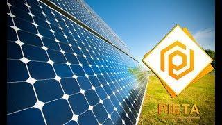Pieta - майнинг криптовалют через применение солнечной энергии