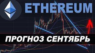 Криптовалюта ЭФИРИУМ Прогноз сентябрь 2019 | Ethereum рост?!