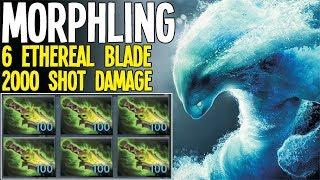 ONE SHOT 2000 Damage 6 Ethereal Blade | Dota 2 Silly Builds