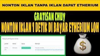 ⭕ ETHERIUM GRATIS NIH   NONTON IKLAN AJA DI BAYAR ETH