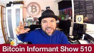 #510 Bitcoin Crypto Hype - Reich in 12 Monaten - Peter McCormack einmal Bitcoin Millionär und zurück