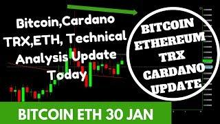 Bitcoin Ethereum Tron More Altcoins Price Technical Analysis today 30th January 2019 Hindi