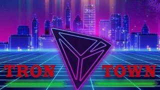 НОВИНКА! Tron Town экономическая игра - криптовалюта TRX КАЖДЫЙ ЧАС!