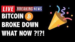 Bitcoin (BTC) Broke Equilibrium! What Now?! - Crypto Market Technical Analysis & Cryptocurrency News