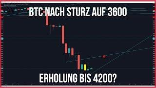 Nach 3600$ Bitcoin auf 4200$? Dazu Ethereum und Neo und einen großen Käufer
