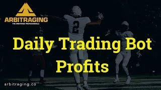 Daily Trading Bot Profits  Arbitraging.co  # Abot  #Ethereum
