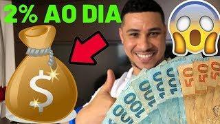 Como Ganhar DINHEIRO na INTERNET Com BITCOIN | Como Ganhar 2% ao Dia!!