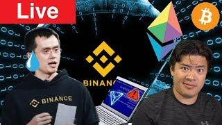 Live: Binance Hacked - Are funds SAFU? Ethereum 2.0 Testnet Released