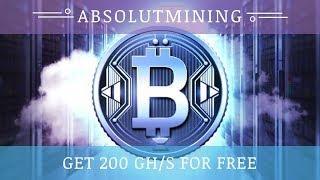AbsolutMining.com отзывы 2018, mmgp, обзор, 200 GHs бонус за регистрацию