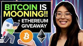 OMG!!! Bitcoin Crossed a HUGE Resistance!! + Ethereum ETH Giveaway