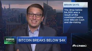 Bitcoin should be at least a small part of an investor's portfolio, says Brian Kelly