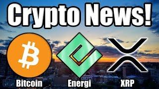 Where is Bitcoin headed Next? | Energi (NRG) Update | Ripple News | Bitmain TROUBLE!