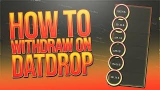 HOW to WITHDRAW on DATDROP (with PayPal, Bitcoin, Ethereum, CSGO Skins)