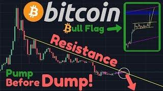BITCOIN PUMP!! Before Dump | BULL Flag | $22 Trillion Dollar US Debt, Payable Through Hyperinflation