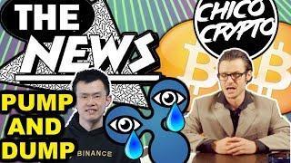 Crypto News w/ Chip. XRP Coinbase $589? Binance & Fetch AI ICO Scam? Eth Dev War!