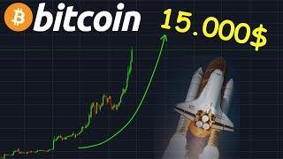 BITCOIN 15.000$ BULL RUN SI FORT !? btc analyse technique crypto monnaie